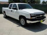 2006 Summit White Chevrolet Silverado 1500 LS Extended Cab #33305618