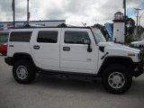 2003 White Hummer H2 SUV #33305972