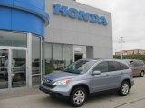 2007 Glacier Blue Metallic Honda CR-V EX-L 4WD #33328473