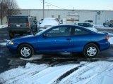 2003 Arrival Blue Metallic Chevrolet Cavalier Coupe #3326488