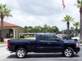 2008 Dark Blue Metallic Chevrolet Silverado 1500 LS Extended Cab #33328960