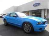 2011 Grabber Blue Ford Mustang V6 Premium Coupe #33328542