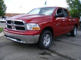 2009 Inferno Red Crystal Pearl Dodge Ram 1500 SLT Quad Cab 4x4 #33328197