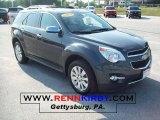 2010 Cyber Gray Metallic Chevrolet Equinox LTZ AWD #33329013