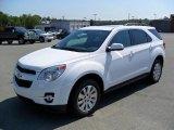 2010 Summit White Chevrolet Equinox LT #33329372