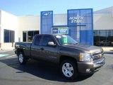 2008 Desert Brown Metallic Chevrolet Silverado 1500 LT Extended Cab 4x4 #33328610