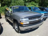 2000 Light Pewter Metallic Chevrolet Silverado 1500 Regular Cab 4x4 #33328615