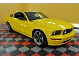 2005 Screaming Yellow Ford Mustang GT Premium Coupe #33329027