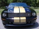 2007 Ford Mustang Black/Gold Stripe