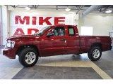 2010 Inferno Red Crystal Pearl Dodge Dakota Big Horn Extended Cab #33328675