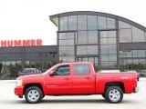 2009 Victory Red Chevrolet Silverado 1500 LTZ Crew Cab 4x4 #33329133