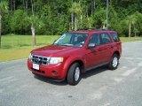 2009 Sangria Red Metallic Ford Escape XLS #33329186