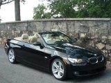 2007 Jet Black BMW 3 Series 335i Convertible #33328386