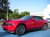 2011 Red Candy Metallic Ford Mustang GT Premium Convertible #33328415