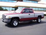 1998 Radiant Fire Pearl Dodge Ram 1500 Laramie SLT Extended Cab 4x4 #33328797