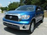 2007 Blue Streak Metallic Toyota Tundra SR5 Double Cab #33328454