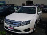 2010 White Platinum Tri-coat Metallic Ford Fusion SEL #33438801