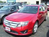 2010 Red Candy Metallic Ford Fusion SE #33438804