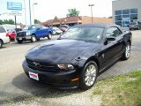 2011 Ebony Black Ford Mustang V6 Premium Convertible #33438807