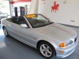 2003 Titanium Silver Metallic BMW 3 Series 325i Convertible #33438584