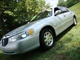 2000 Silver Frost Metallic Lincoln Town Car Signature #33438589