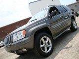 2002 Graphite Metallic Jeep Grand Cherokee Overland 4x4 #33438630
