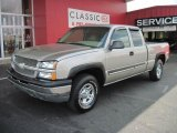 2003 Light Pewter Metallic Chevrolet Silverado 1500 LS Extended Cab 4x4 #33439126