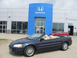 2002 Deep Sapphire Blue Pearl Chrysler Sebring Limited Convertible #33439428