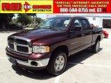2004 Deep Molten Red Pearl Dodge Ram 1500 SLT Quad Cab 4x4 #33439452