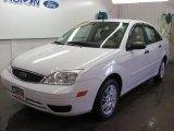 2005 Cloud 9 White Ford Focus ZX4 SE Sedan #33439526