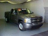 2007 Graystone Metallic Chevrolet Silverado 1500 LT Extended Cab #33439205