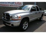 2006 Bright Silver Metallic Dodge Ram 1500 SLT Quad Cab 4x4 #33439549