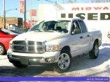 2005 Bright White Dodge Ram 1500 SLT Quad Cab #33496384