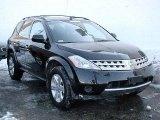 2006 Super Black Nissan Murano S AWD #33496618