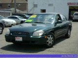 2001 Cypress Green Hyundai Sonata GLS V6 #33496443
