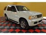 2003 Ceramic White Tri Coat Ford Explorer Limited 4x4 #33496071