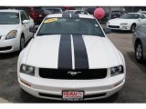 2007 Performance White Ford Mustang V6 Deluxe Coupe #33496681
