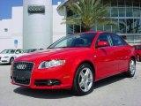 2008 Brilliant Red Audi A4 2.0T Special Edition Sedan #3338811