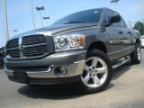 2008 Mineral Gray Metallic Dodge Ram 1500 SLT Quad Cab #33495775