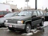 1995 Moss Green Pearl Jeep Grand Cherokee Laredo 4x4 #33496514