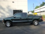 2001 Chevrolet Silverado 1500 Medium Green Pearl Metallic