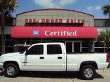 2006 Summit White Chevrolet Silverado 1500 LT Crew Cab #33495790