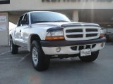 2003 Bright White Dodge Dakota Sport Quad Cab 4x4 #33496119