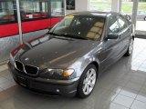 2003 Steel Grey Metallic BMW 3 Series 325i Sedan #33496231
