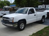 2004 Summit White Chevrolet Silverado 1500 Regular Cab 4x4 #33496253