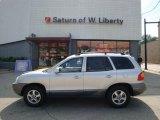 2003 Pewter Hyundai Santa Fe LX 4WD #33495815