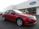 2010 Red Candy Metallic Ford Fusion SE #33495869