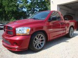 2006 Inferno Red Crystal Pearl Dodge Ram 1500 SRT-10 Regular Cab #33496332
