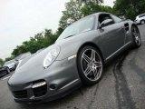 2007 Meteor Grey Metallic Porsche 911 Turbo Coupe #33538684