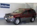2002 Dark Garnet Red Pearlcoat Jeep Grand Cherokee Laredo 4x4 #33549078